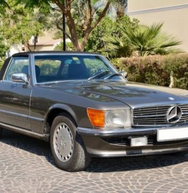 '86 Mercedes 300 SL
